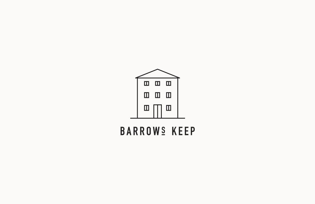 Barrows Keep Restaurant: Logo design by Freelance Graphic Designer Colm