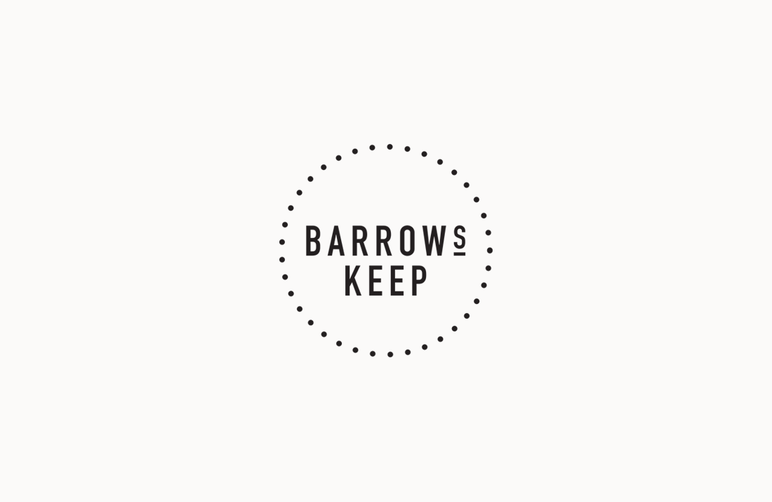 Barrows Keep Restaurant: Logo stamp by Freelance Graphic Designer Colm