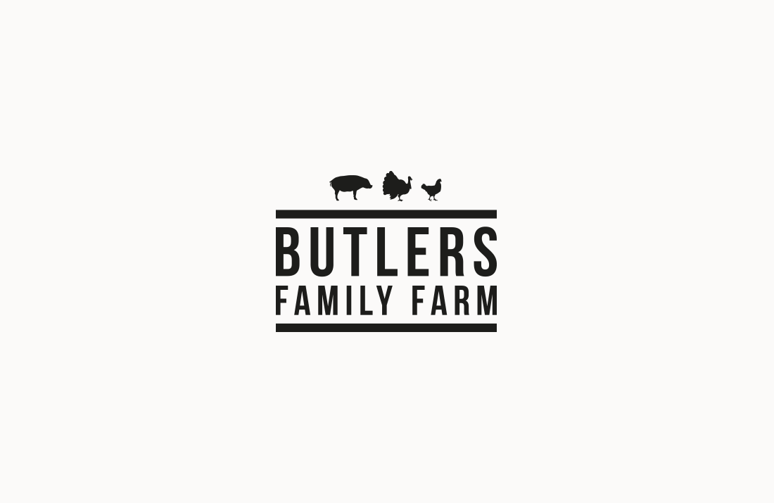 Butlers Family Farm Logo Design by Colm McCarthy