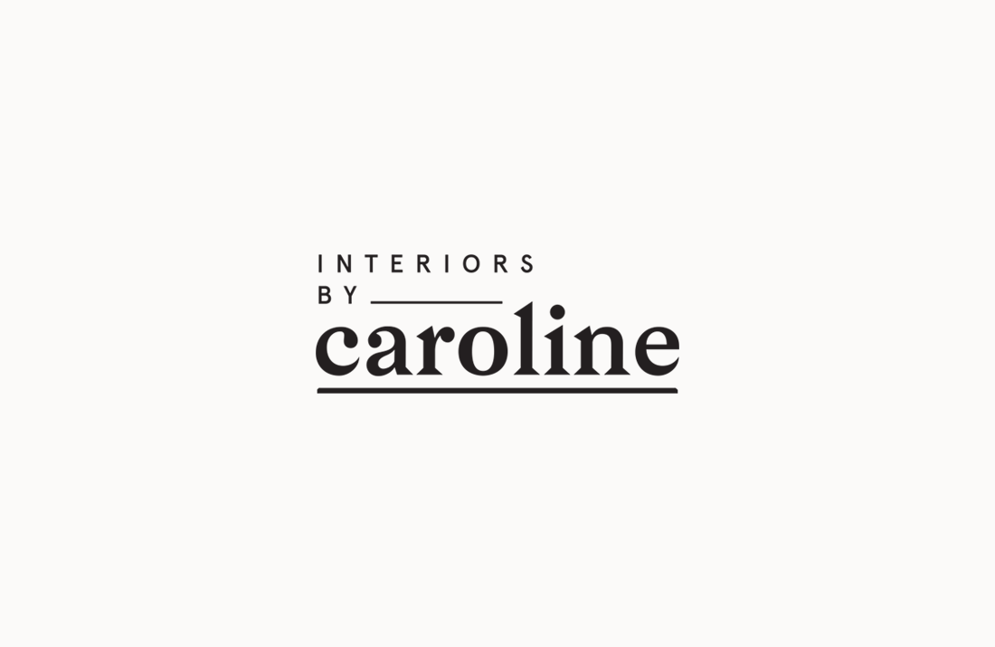 Interiors By Caroline Logo Design by Colm McCarthy