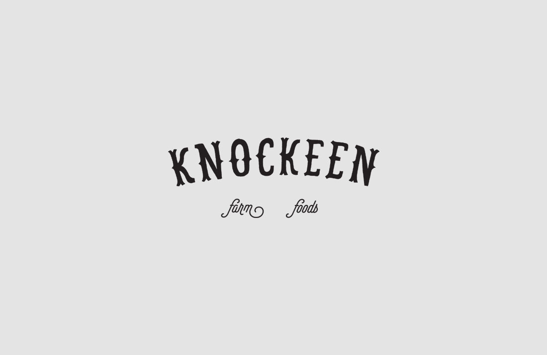 Knockeen Farm Foods Logo Design