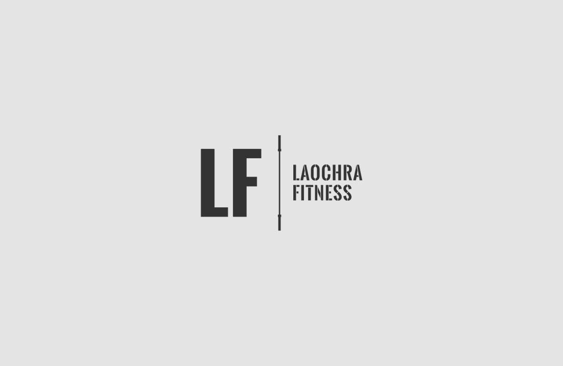 Laochra Fitness Logo Design