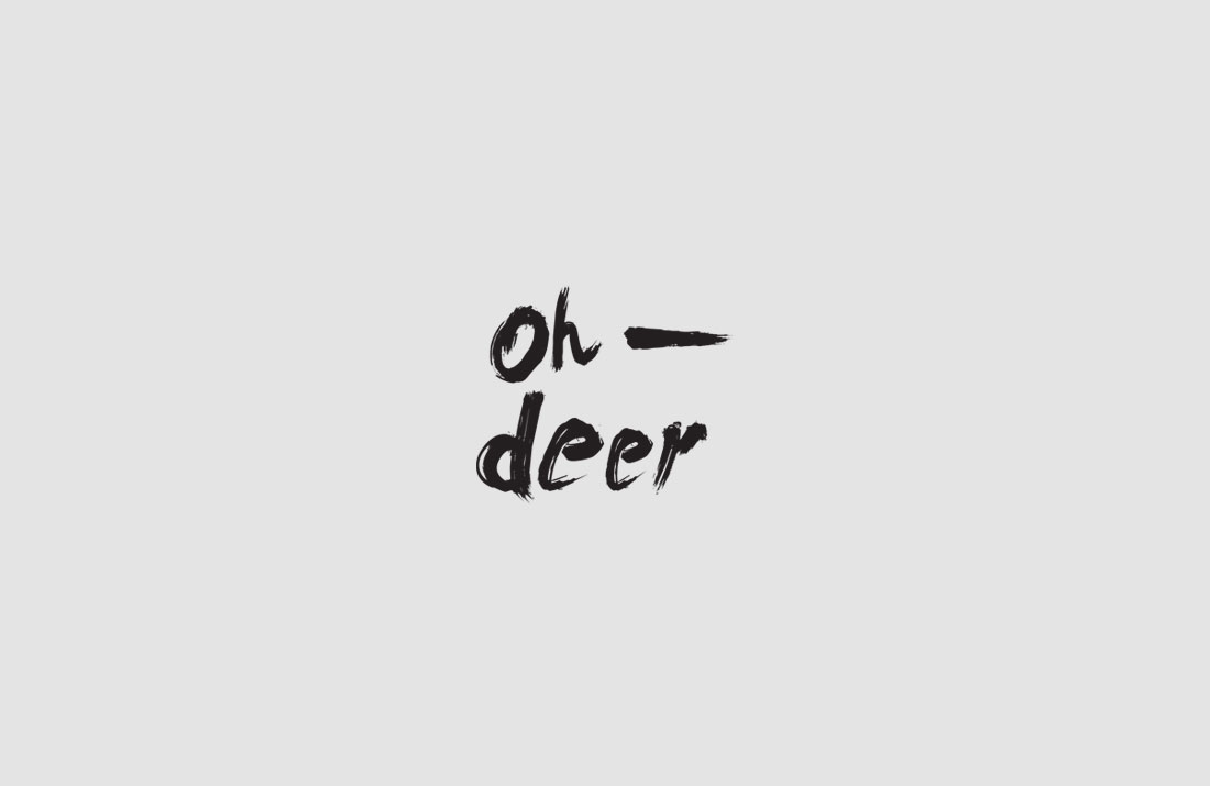 Oh-Deer Logo Design
