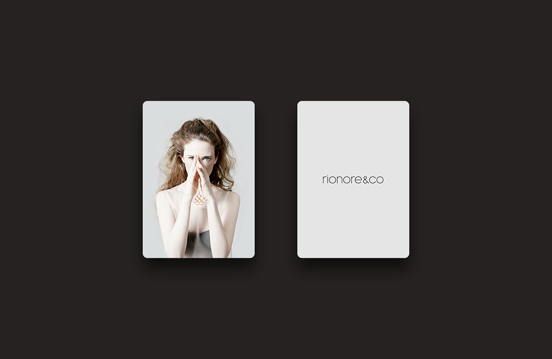Rionore&Co Brand Packaging Mockup