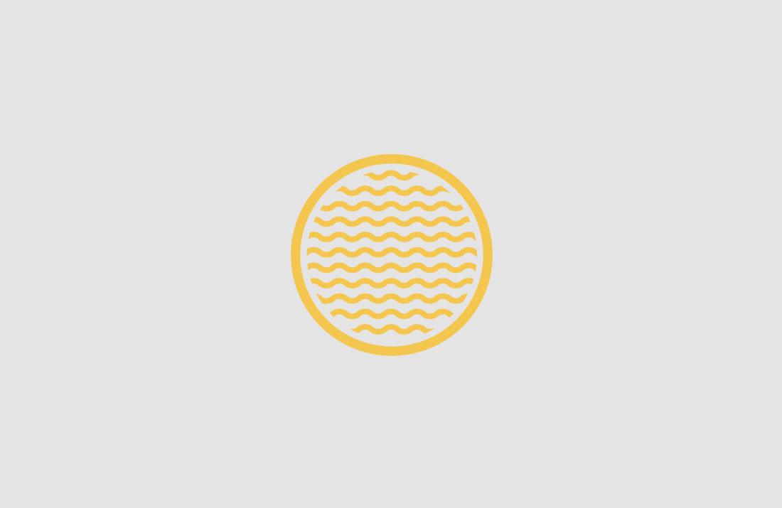 Strandhill Brewery Stamp Logo Design