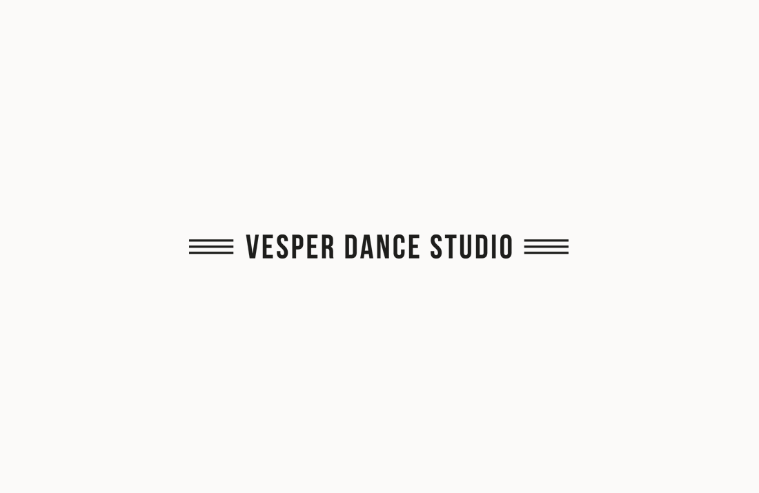 Vesper Dance Studio Logo Design by Colm McCarthy