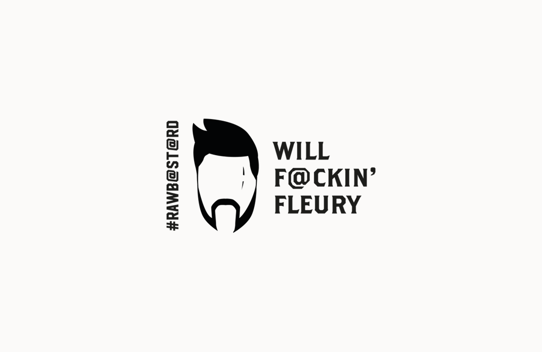 Will Fleury UFC Fighter Logo Design by Colm McCarthy